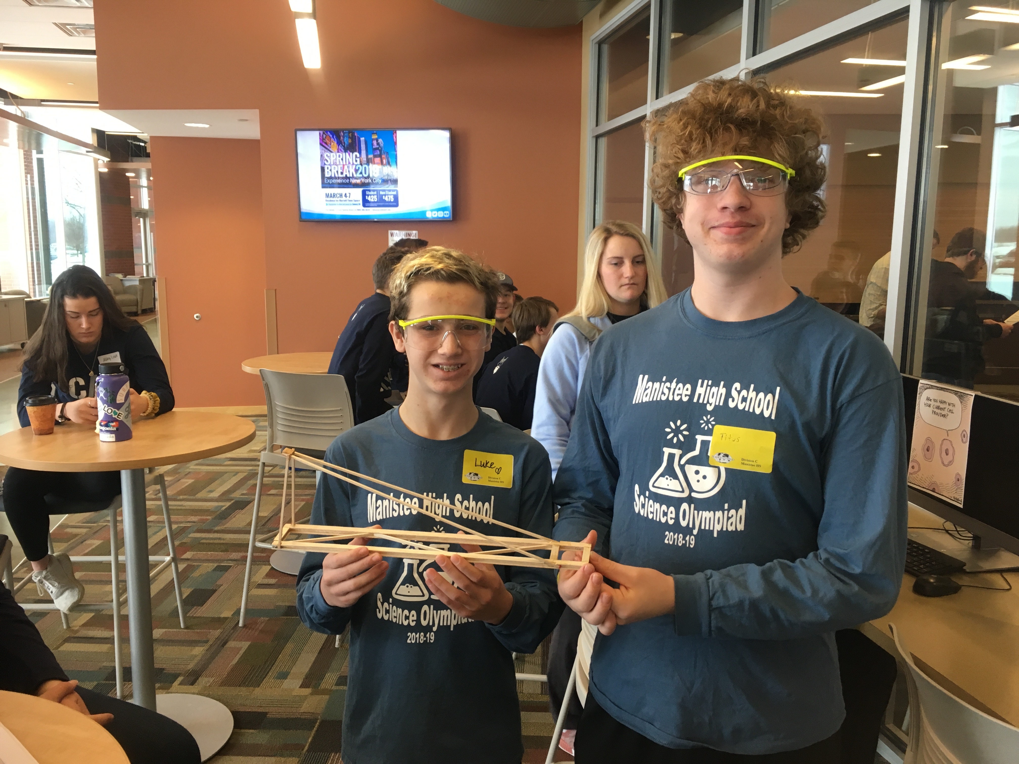 science olympiad competitors