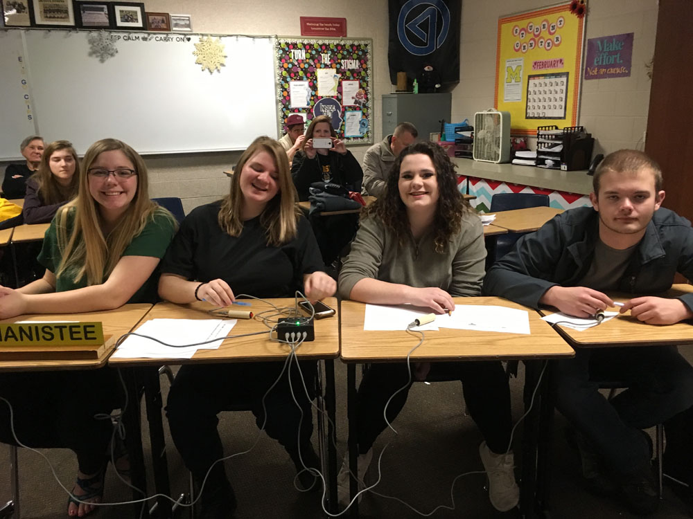 Quiz Bowl JV Bteam region tournament team